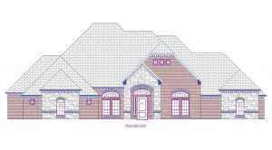 6051 Limestone Front Elevation for web