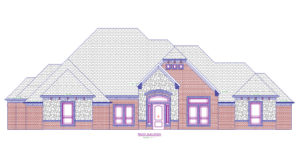 3710 Maple - Front Elevation