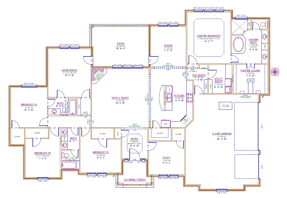 7061 Dillon Cir Floorplan