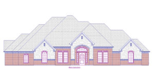 3720 Maple Ln - Front