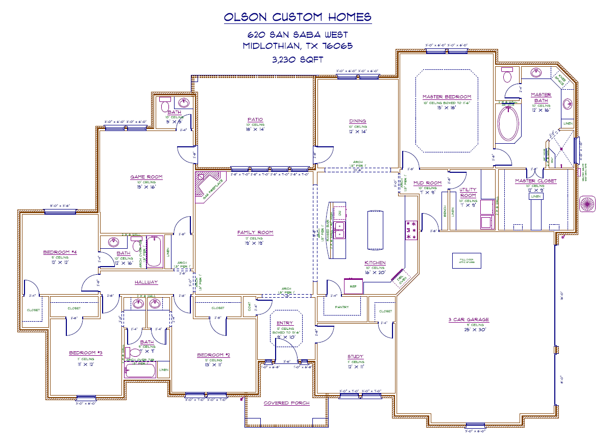 620 San Saba West - port Floorplan