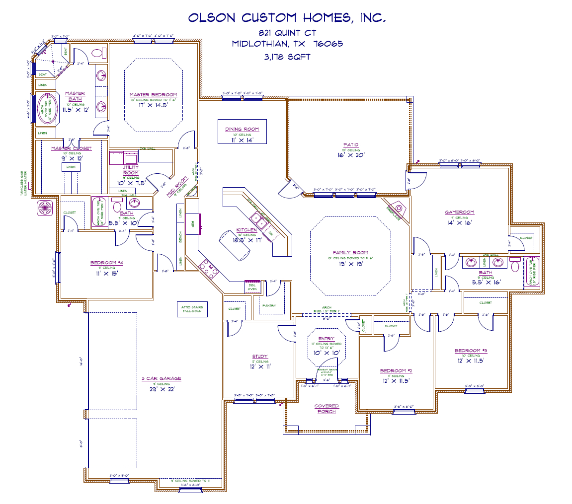 821 Quint Ct - Port Floorplan