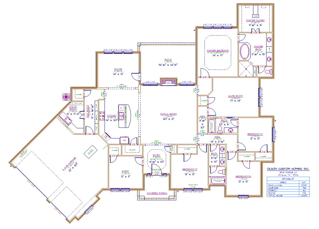 3510 Maple Ln - port Floorplan